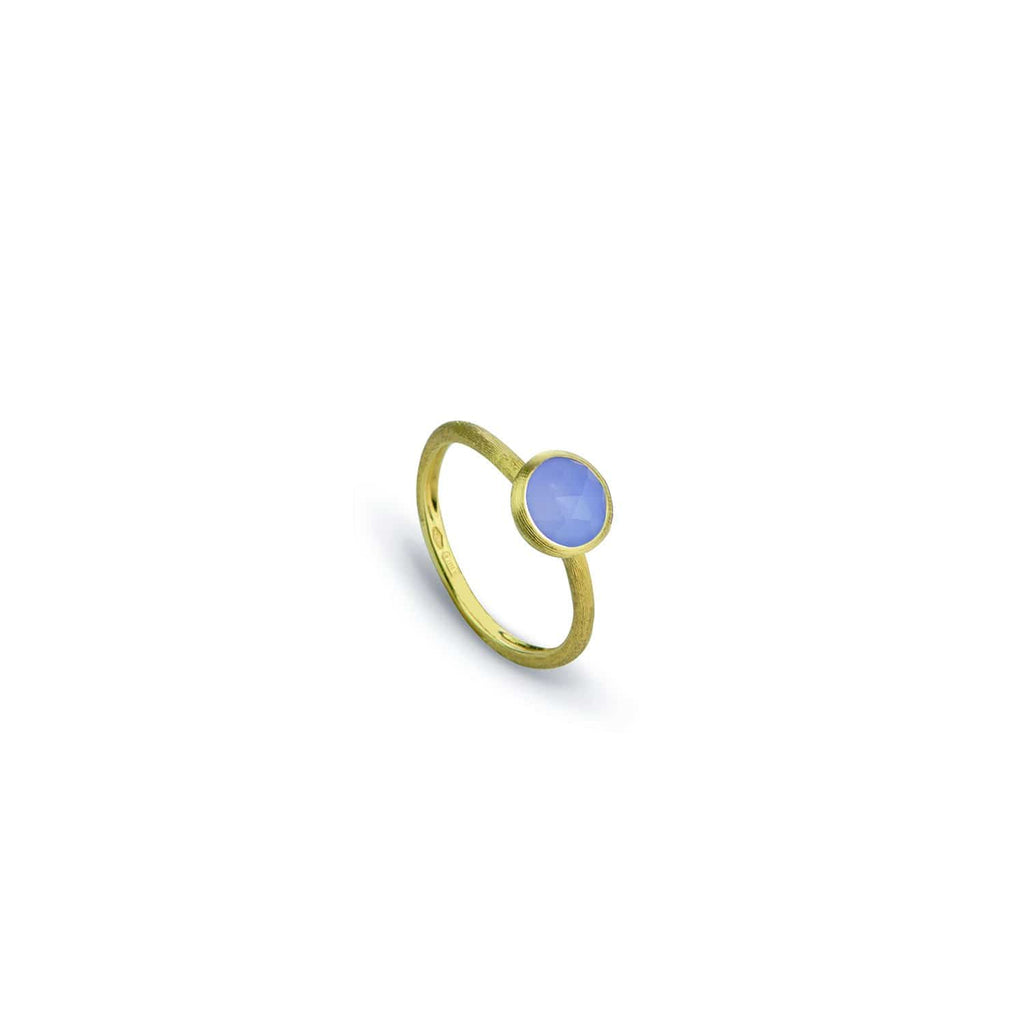 Jaipur Chalcedony Stackable Ring
