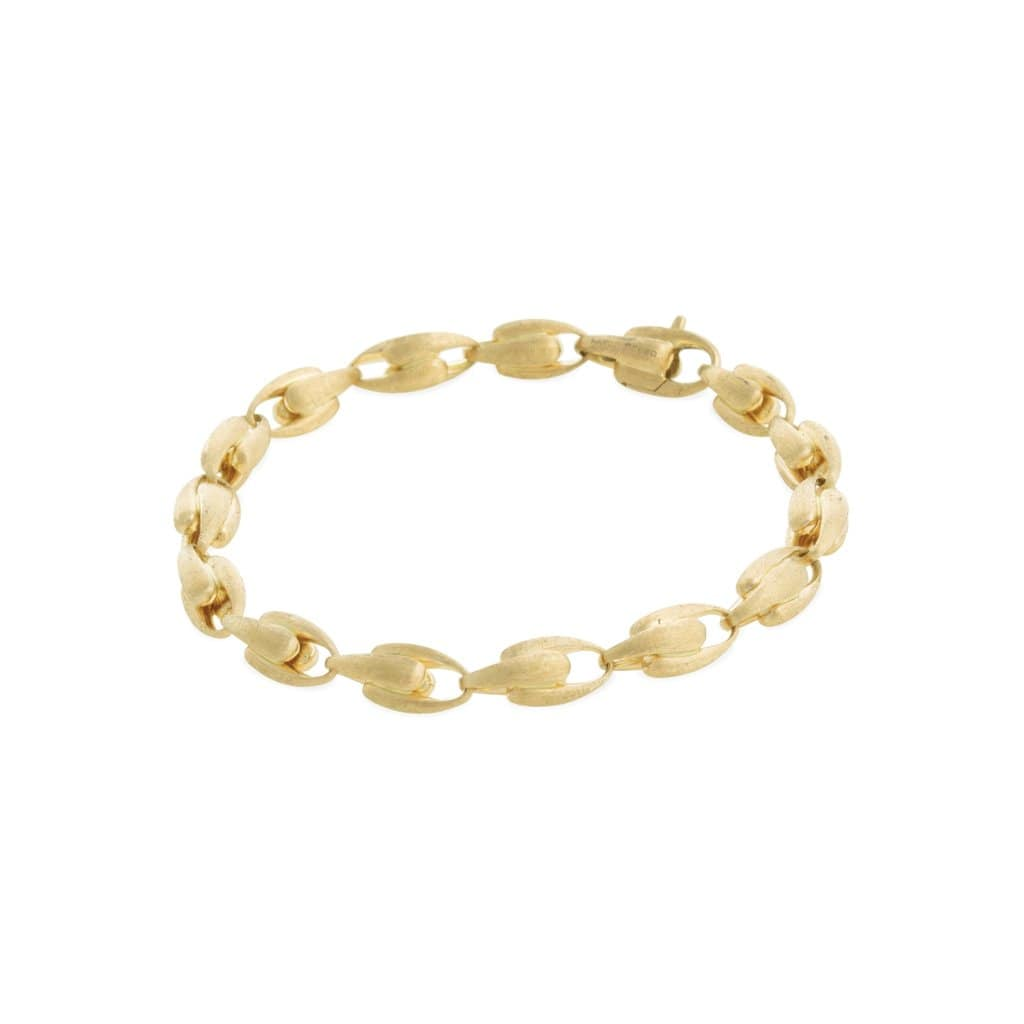 18K Yellow Gold Small Link Bracelet