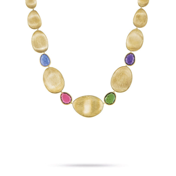 Unico Mixed Stone Collar Necklace