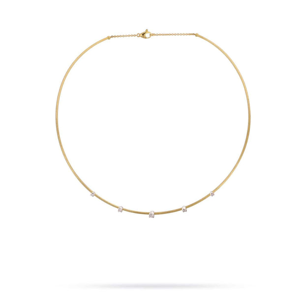 Luce Gold & Five Diamond Collar - Exclusive