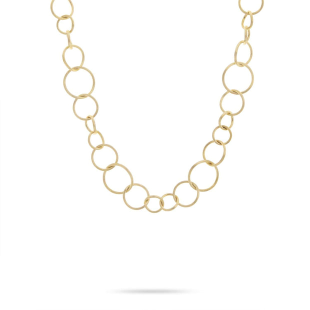 Luce Yellow Gold Link Necklace