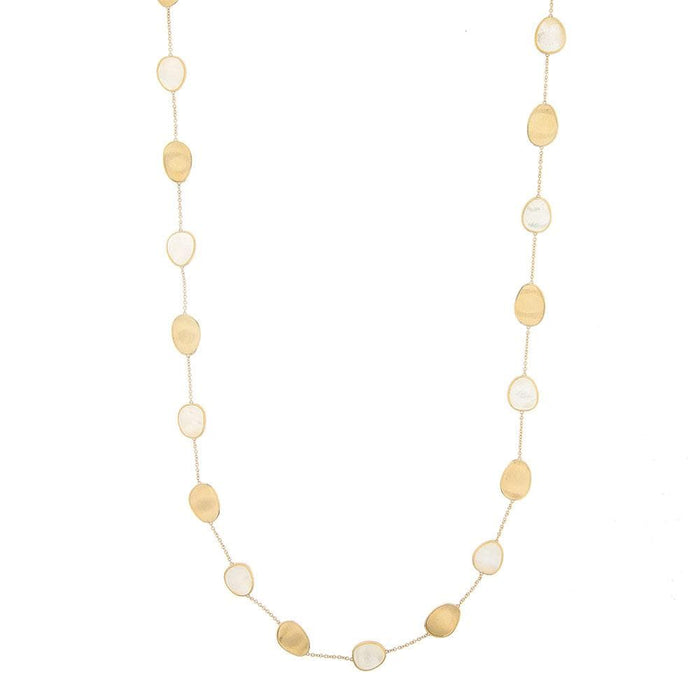 Mother-of-Pearl Lunaria Necklace