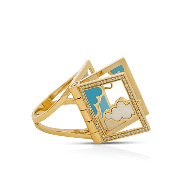 Dreampedia Cloud Book Ring