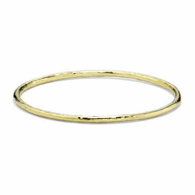 Classico Hammered Small Bangle