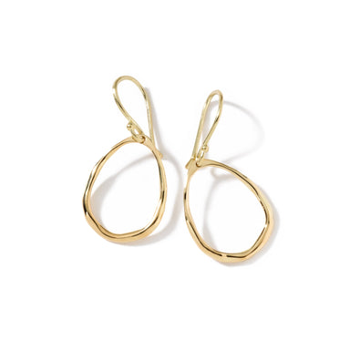 Classico Mini Squiggle Teardrop Earring