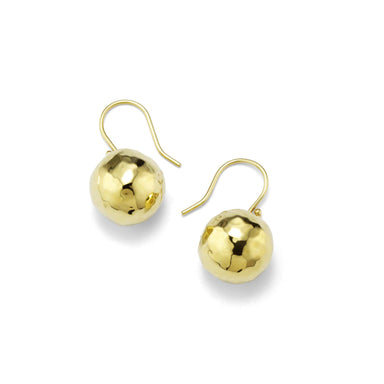 Electroformed Classico Mini Ball Drop Earrings