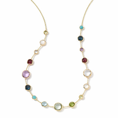 Multi-Stone Lollipop Lollitini Short Necklace