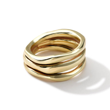 Triple Band Squiggle Ring