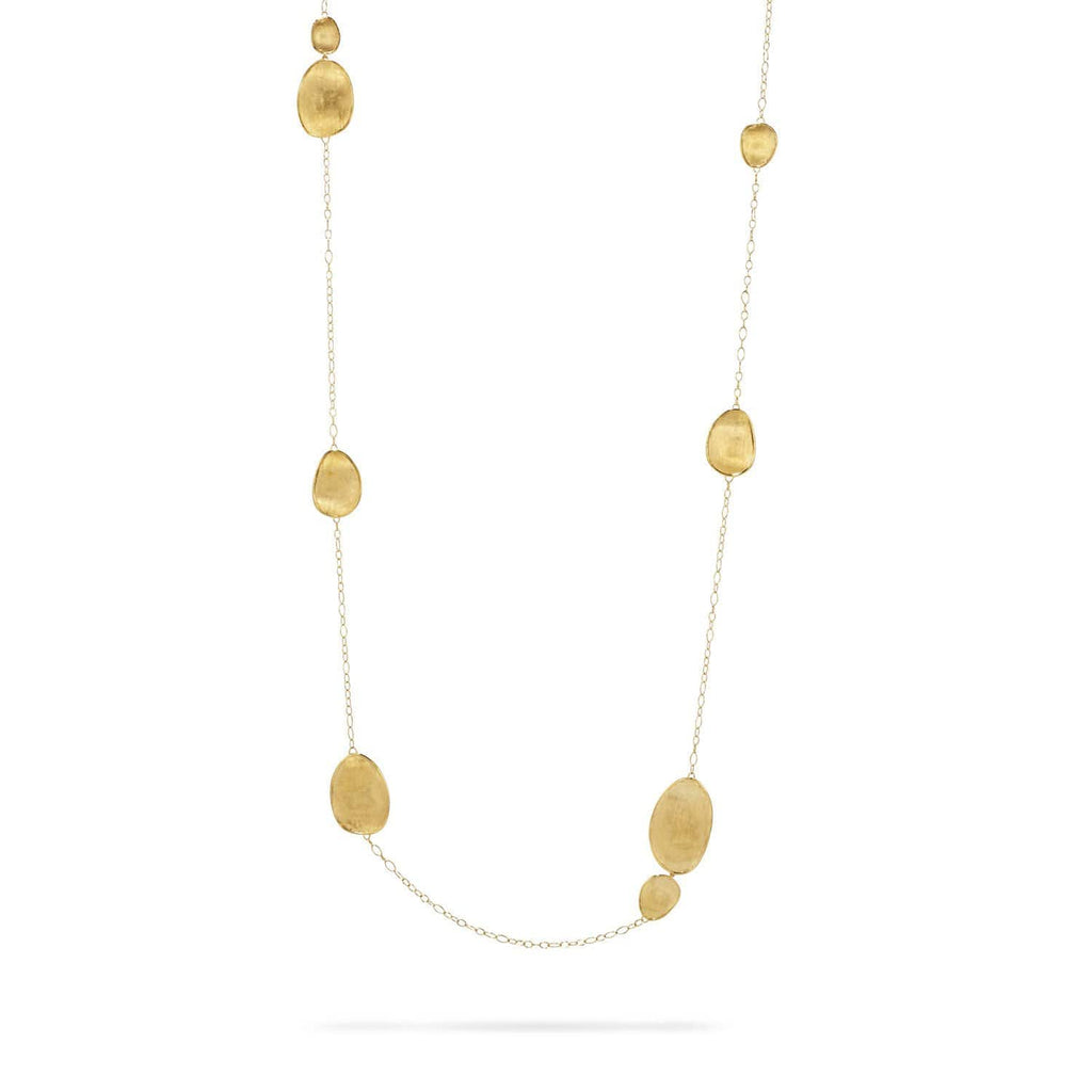 18K Gold Long Necklace