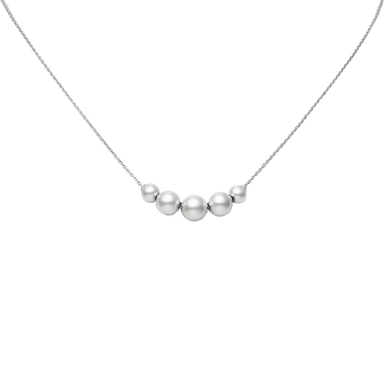 Akoya Pearls in Motion Necklace