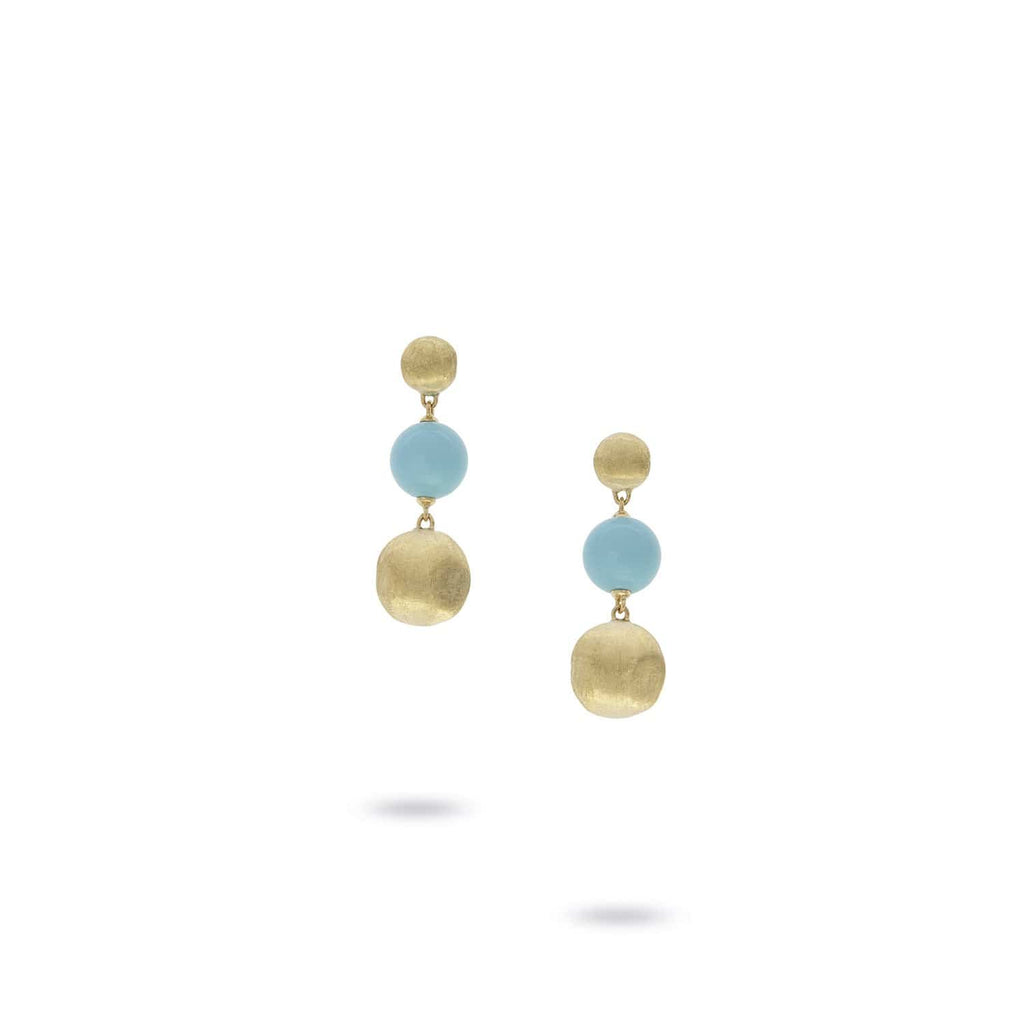 Africa Turquoise Drop Earrings