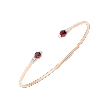 Garnet and Diamond M'Ama Non M'Ama Cuff