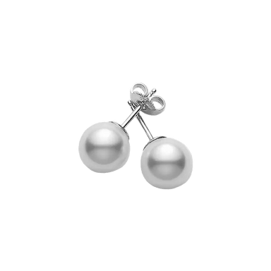 Everyday Essentials Akoya Pearl Stud Earrings (A+ 8-7.5mm)