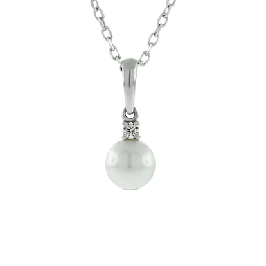 Akoya Pearl and Diamond Everyday Essentials Pendant