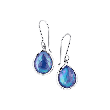 Rock Candy Mini Teardrop Earrings in Eclipse