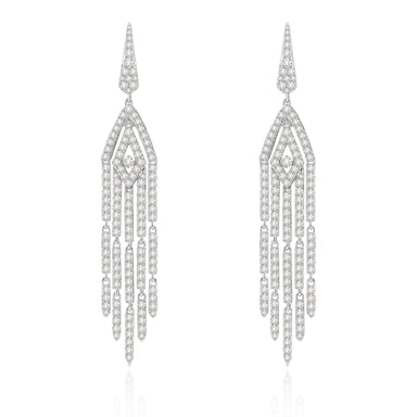 Jewels Diamond Tassel Collection Earrings