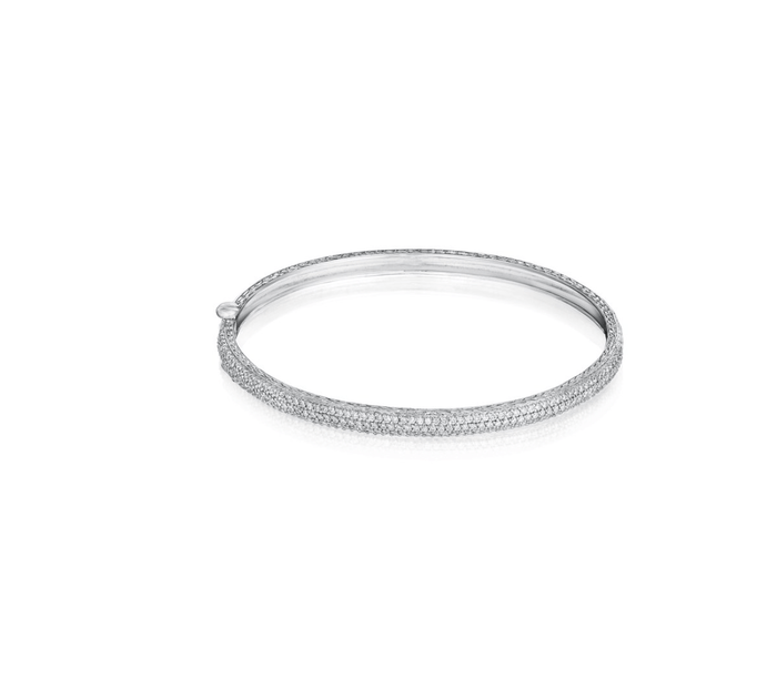 DIAMOND ROUNDED BANGLE