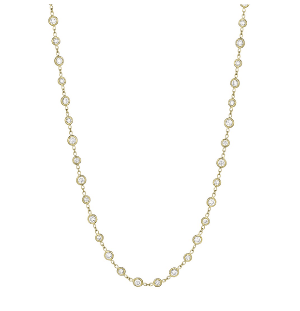 "18"" Diamond Eyeglass Chain"