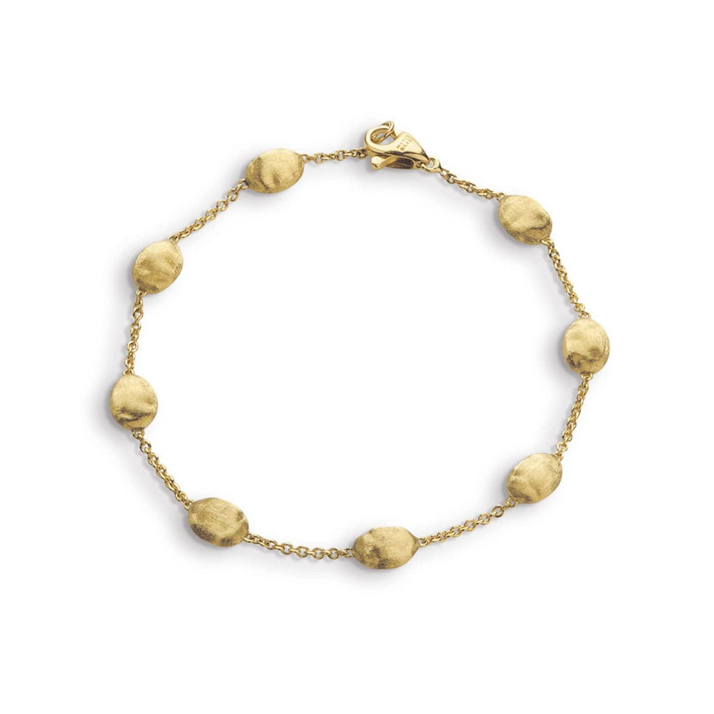 18K Gold Medium Bead Bracelet