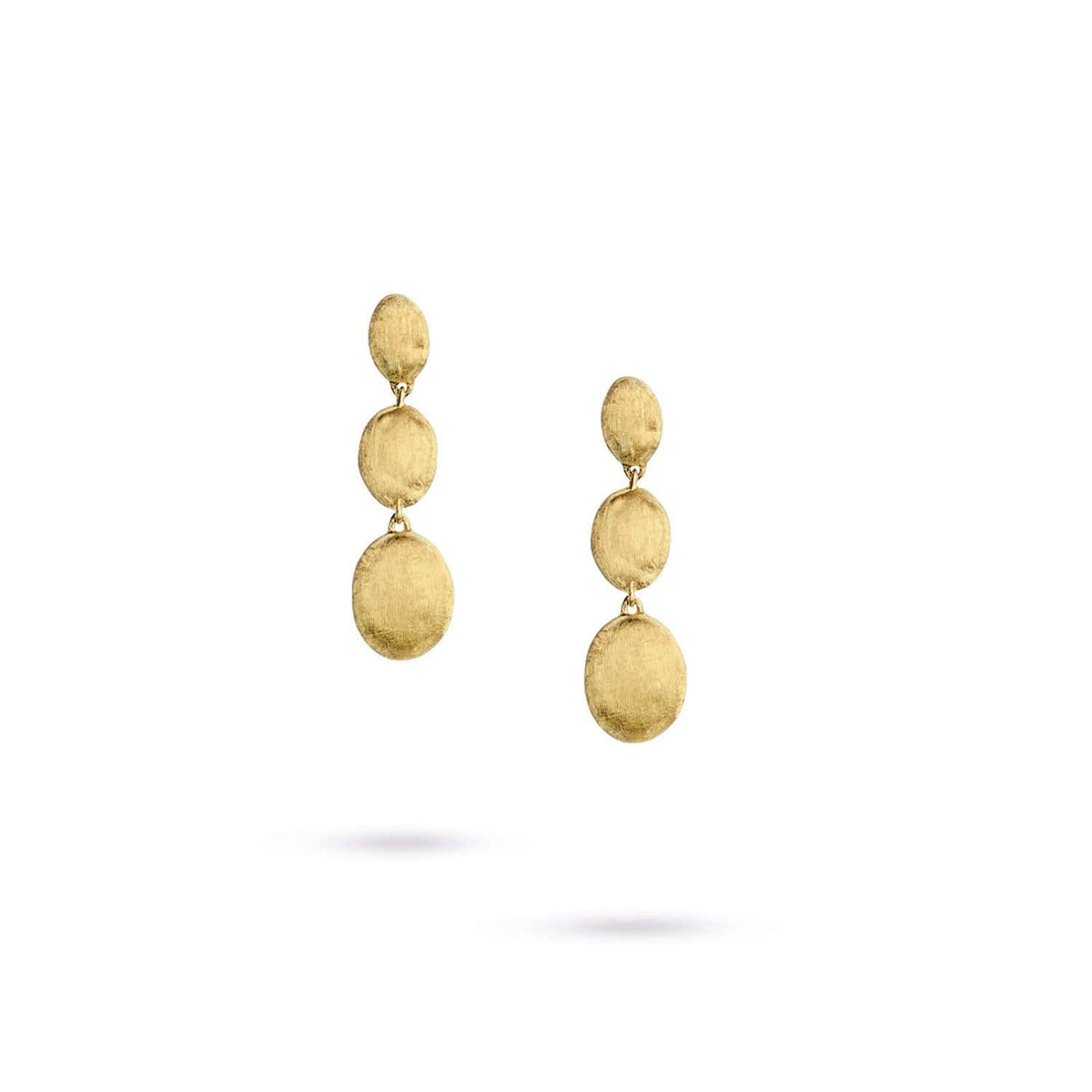 Siviglia Gold Triple Drop Earrings