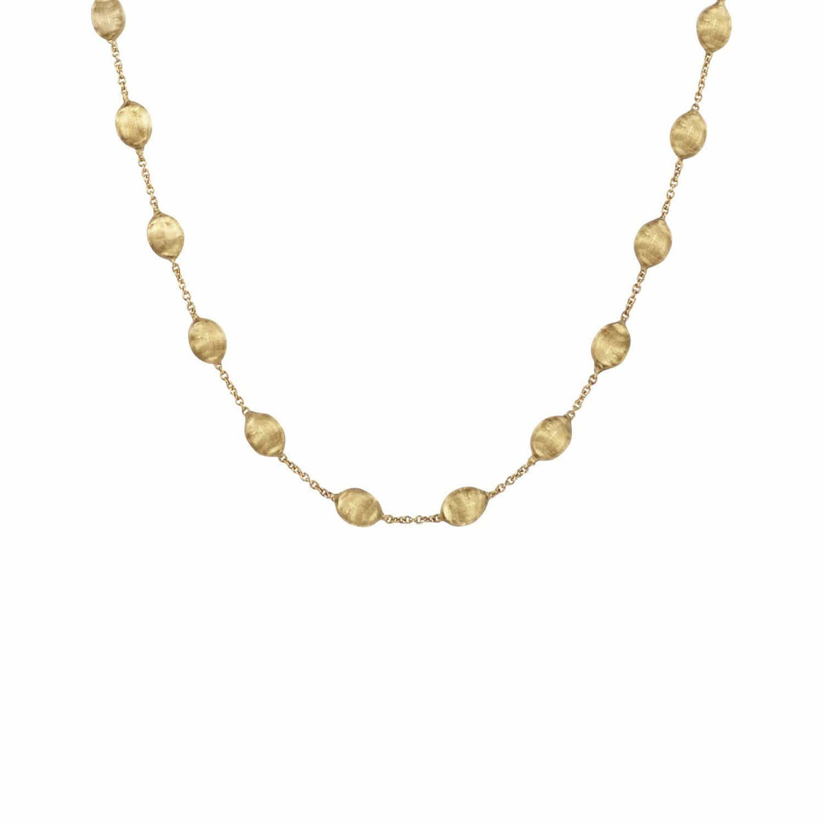 Siviglia Gold Medium Bead Short Necklace