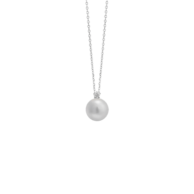 White South Sea Pearl and Star Necklace