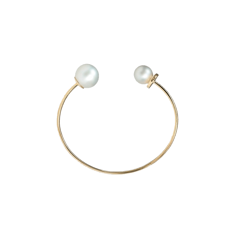 White South Sea Pearl Cuff