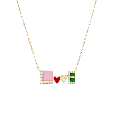 All You Need Love Necklace