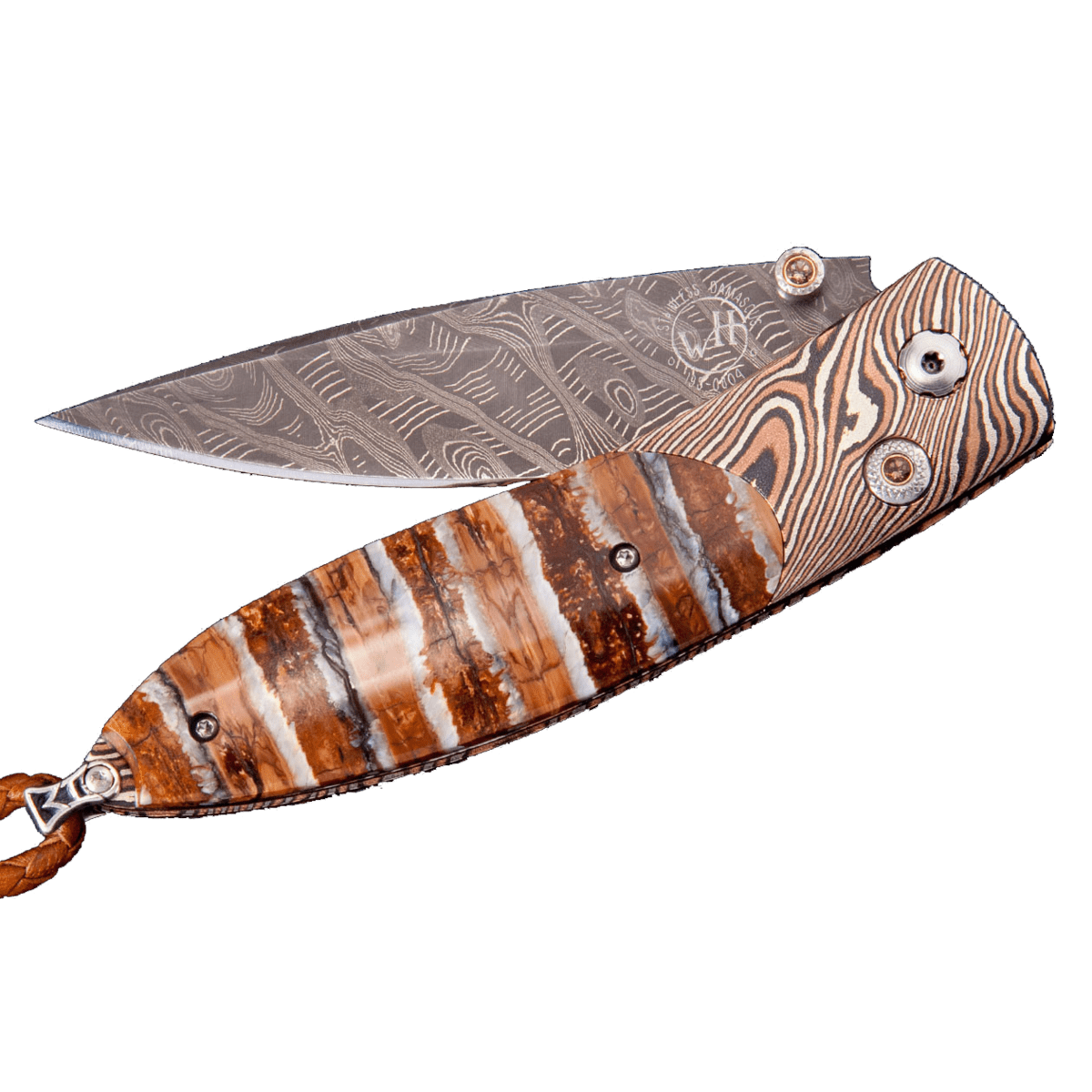 Smokey Quartz Monarch Archetype II B05 Folding Knife