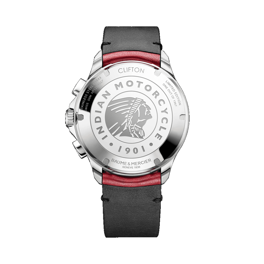 Clifton Club 10404 Indian Motorcycle Limited Edition Watch