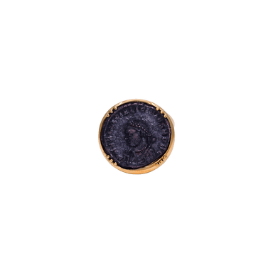 Bronze Roman Coin Ring