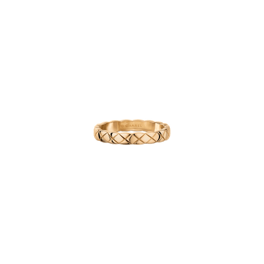 Coco Crush Beige Gold Ring