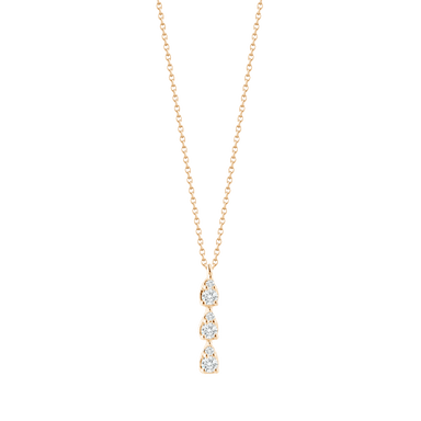 Sophia Ryan Triple Teardrop Necklace