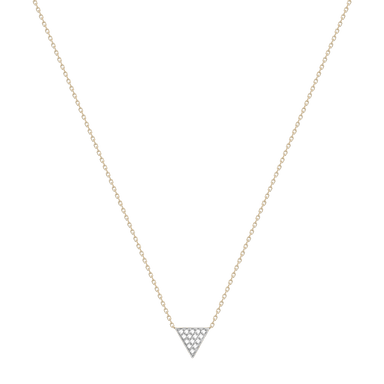 Emily Sarah Triangle Necklace