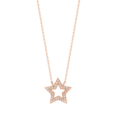 Julianne Himiko Cutout Star Necklace