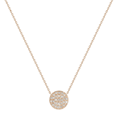 Lauren Joy Medium Disc Necklace