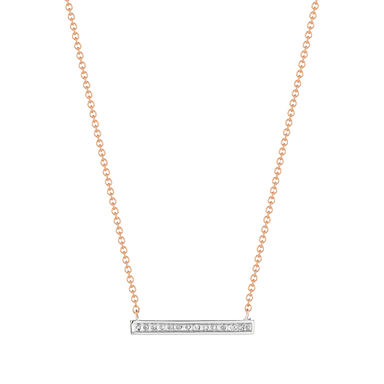 Sylvie Rose Medium Bar Necklace