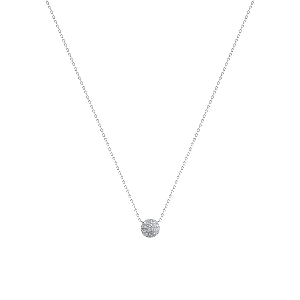 Lauren Joy Mini Disc Necklace