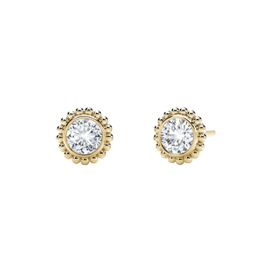 Diamond Tribute Collection Beaded Studs