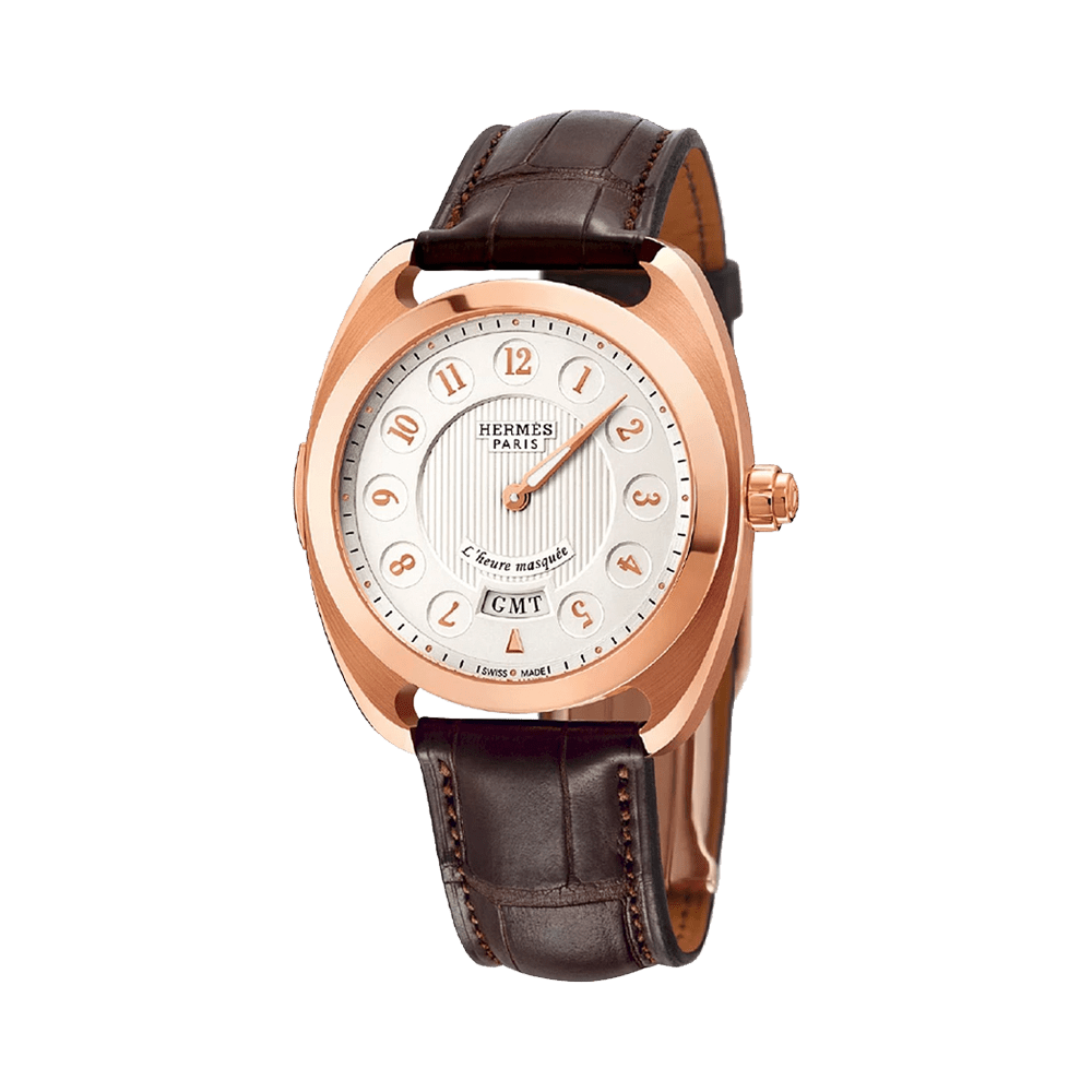 Dressage Heure Masquee GMT Watch