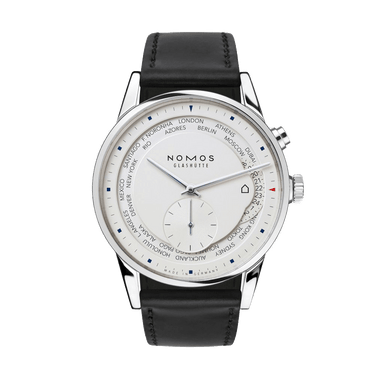 Nomos Glashuette Zurich World Time Watch