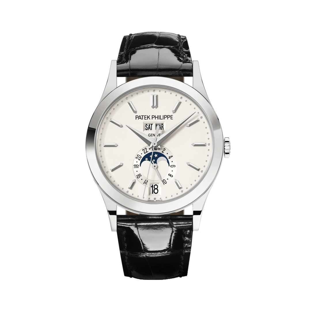 Complications White Gold Silver Dial Watch 5396G-011