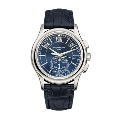 Complications Blue Dial Platinum Chronograph 5905P-001