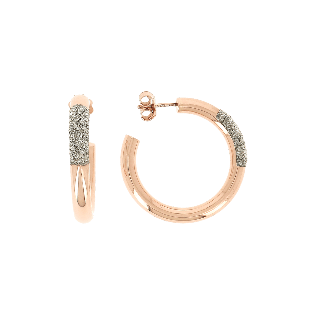 Thick Diamanti Small Hoop Earrings