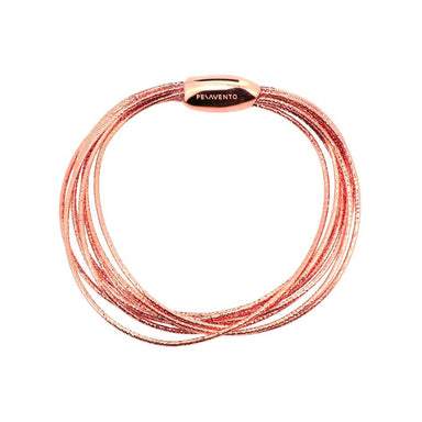 DNA SPRING THIN BRACELET - ROSE GOLD