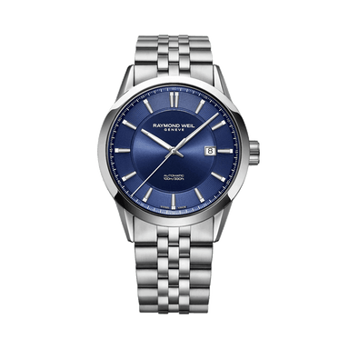 Freelancer Men's Classic Blue Automatic Date Watch