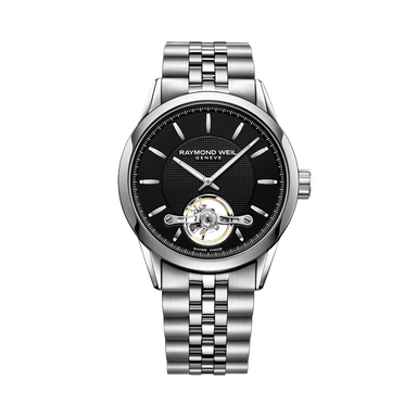 Freelancer Black Dial Automatic Watch