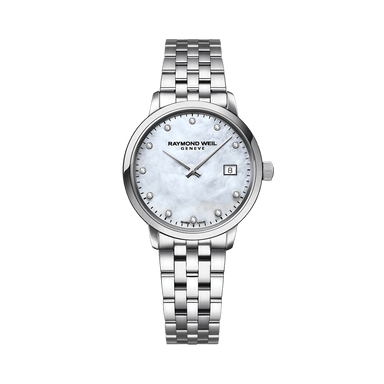 Toccata Ladies White Mother-of-Pearl Diamond Quartz Watch