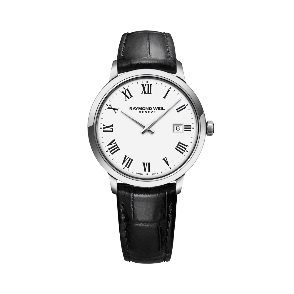 Toccata Classic Men's White Dial Quartz Watch