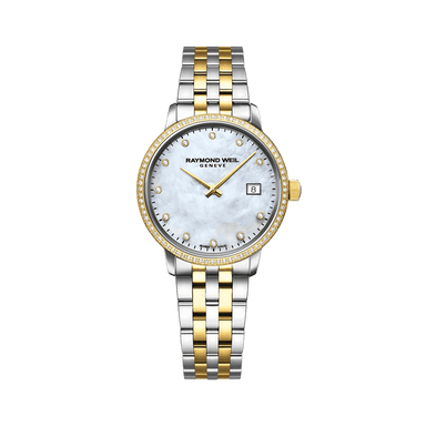 Toccata Ladies Two-Tone Gold Diamond Quartz Watch